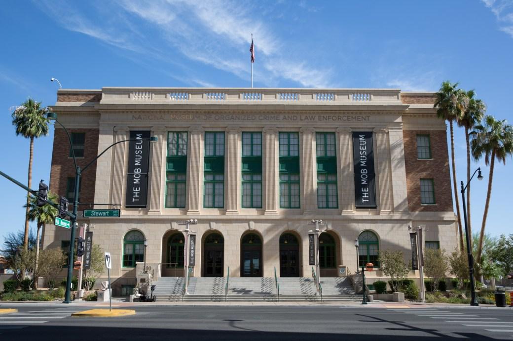 Antigua corte federal de Las Vegas, hoy día Museo del Crimen Organizado
