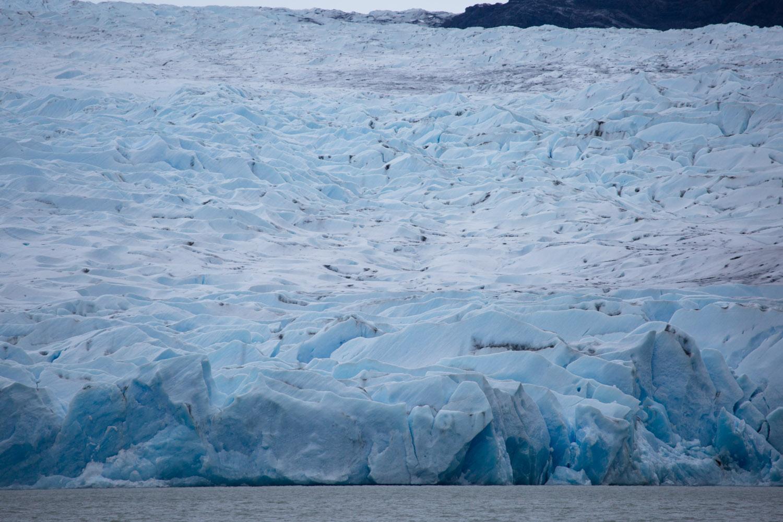 Detalle del glaciar Grey, Chile