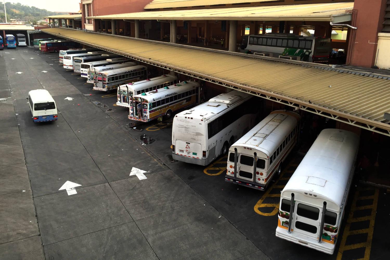 Terminal de autobuses de Albrook, Panamá