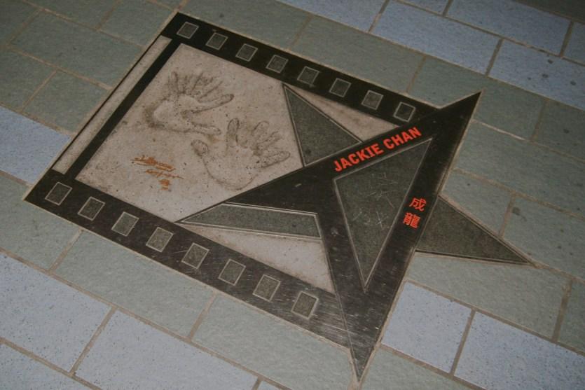 Estrella a Jackie Chan
