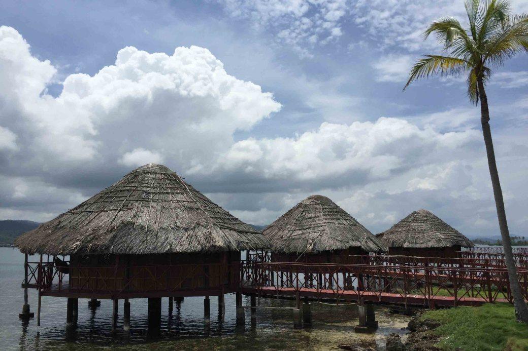 Cabañas en Yandup Island Lodge, archipiélago de Guna Yala o San Blas, Panamá
