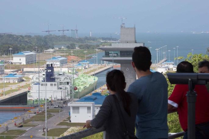 Esclusas de Agua Clara, Canal de Panamá