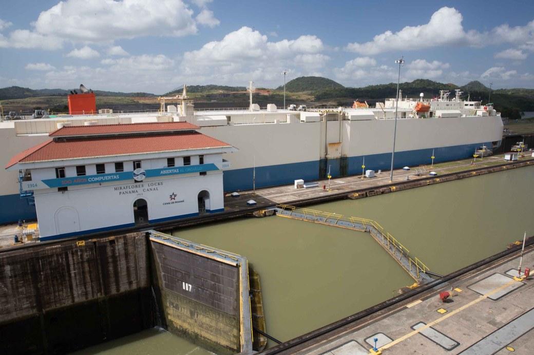 Esclusas de Miraflores, Canal de Panamá