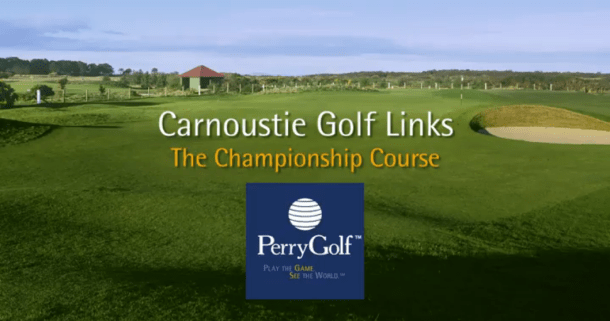 Carnoustie Golf Links, Carnoustie, Angus, Scotland