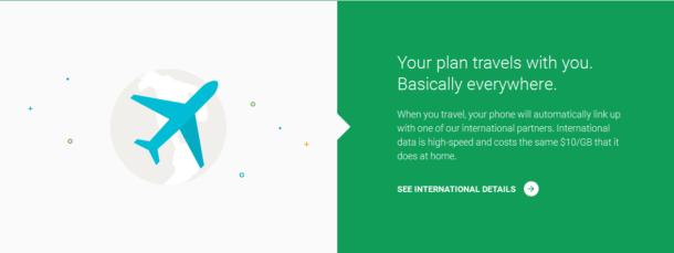 Google's Project Fi - International Coverage