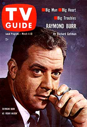 Raymond Burr March 04 1961 TV Guide