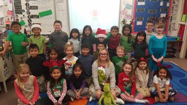 Grinch Day Mary Bryan Elementary School
