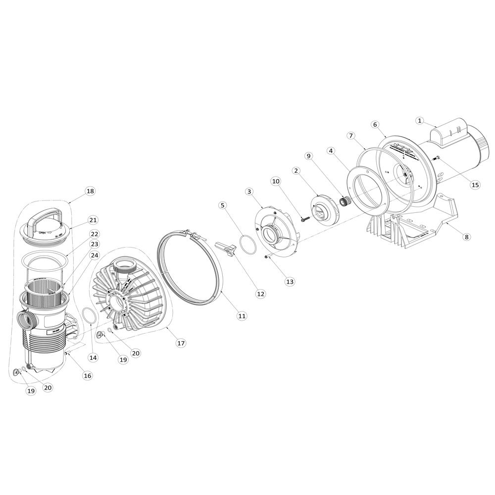 Pentair Whisperflo Pump Motor Wiring Diagram Pentair