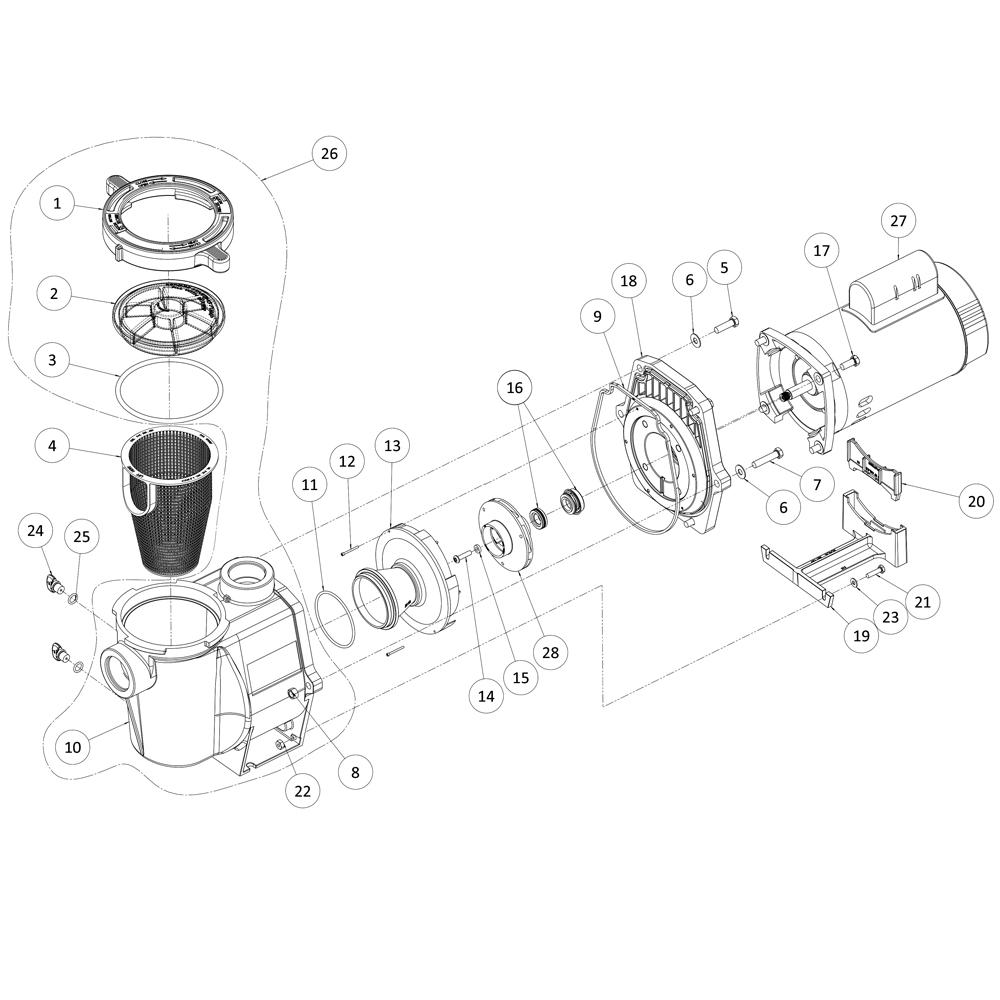 Whisperflo Pool Pump Wiring Diagram Ao Smith Motor Wiring