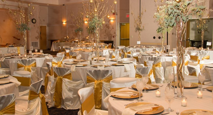 gold chair covers to rent exercises for seniors with arthritis linen rentals mi table wedding party troy ivory rental w charger