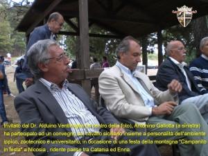 13 settembre 2009 – Campanito in festa. Il cavallo nella cultura e tradizione siciliana. Lo storico Dott. A. Gallotta parla del cavallo persano
