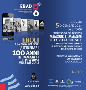 Interessante appuntamento a Eboli i 5 dicembre