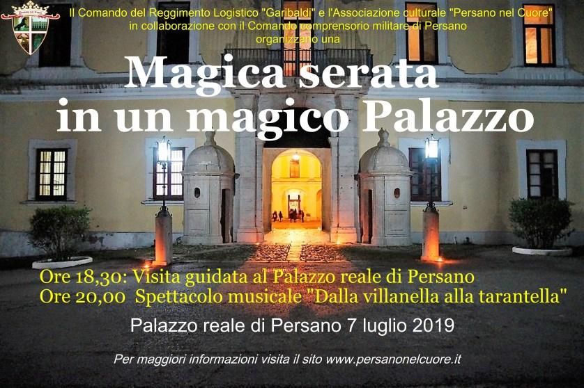 Una magica serata in un magico Palazzo