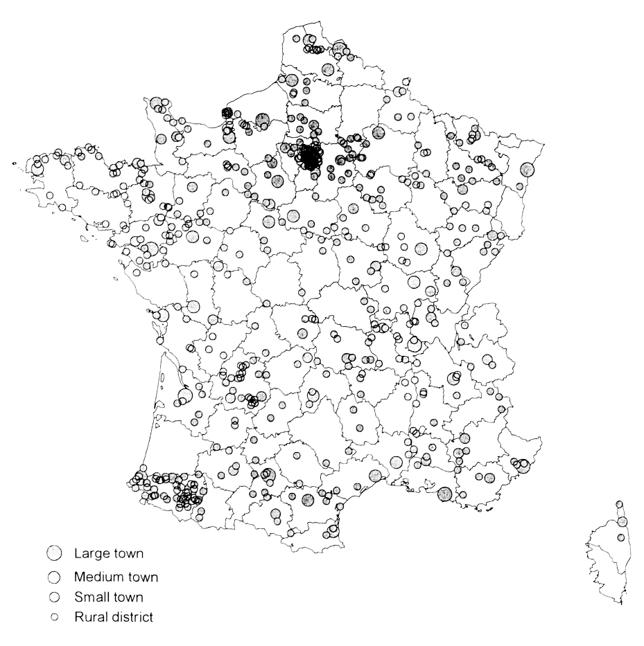 J.-N. Biraben's Survey of the Population of France from