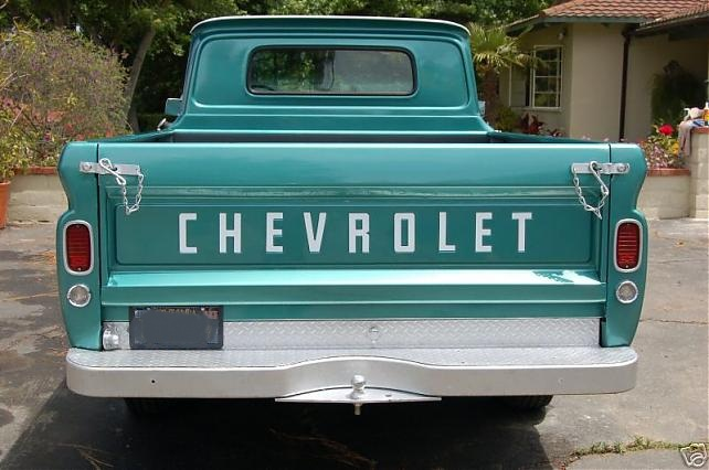 1966 Chevy C10 Tail Light Wiring Diagram
