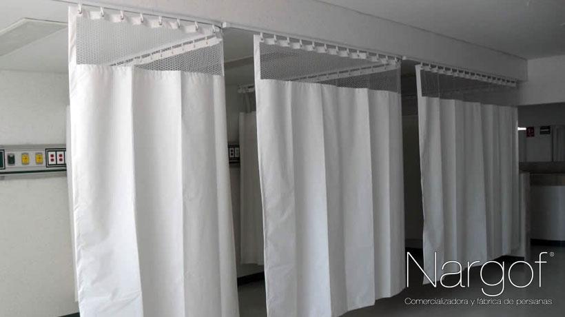 Comercializadora Nargof fabrica cortinas antibacterianas y