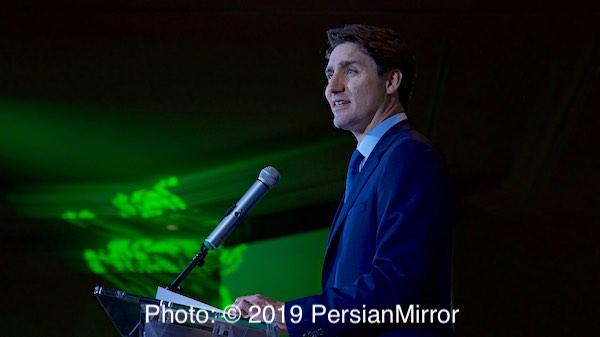 نخستین جشن بینالمللی نوروز با حضور نخست وزیر کانادا 1