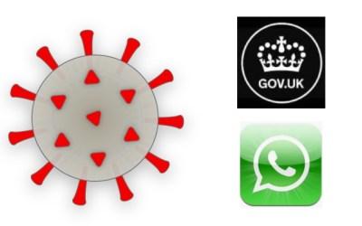 ویروس کرونا و رواج واتساپ در انگلستان
