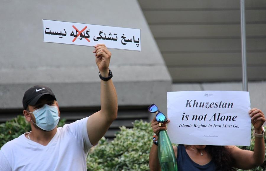 سخنان حامد اسماعیلیون در حمایت از مردم خوزستان