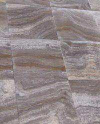 Silver Travertine vein cut - www.persiantile.co.za