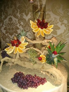 wedding fruit station 8