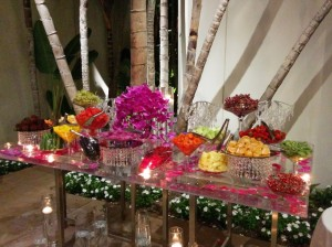 wedding fruit station 9