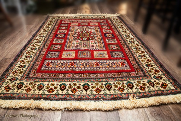 carpet with natural harmonious