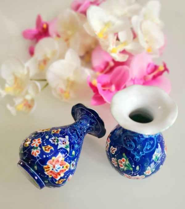 Enamel Vases