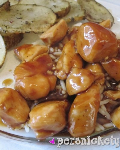 Bourbon Chicken just like from the food court! | Persnickety Plates