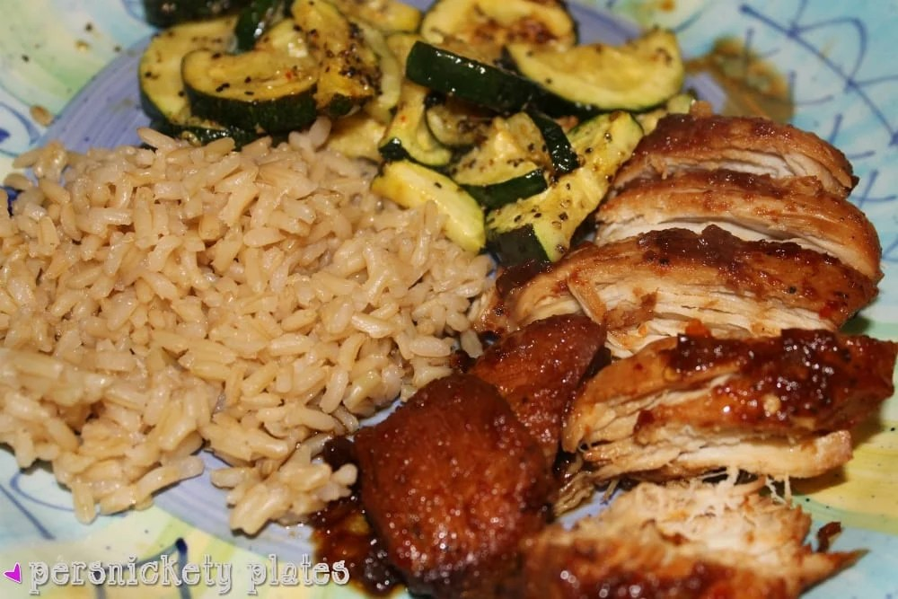 If you love bourbon chicken from the food court at the mall, you'll love this version of Crock Pot Honey Bourbon Chicken that's made right in your slow cooker!   www.persnicketyplates.com