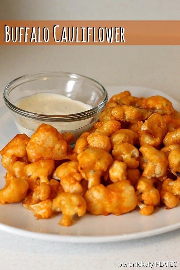 Buffalo Cauliflower | Persnickety Plates