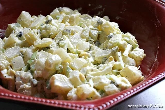 My Favorite Potato Salad | Persnickety Plates