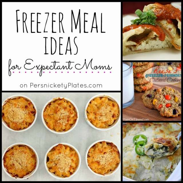 Freezer Meal Ideas for Expectant Moms | Persnickety Plates