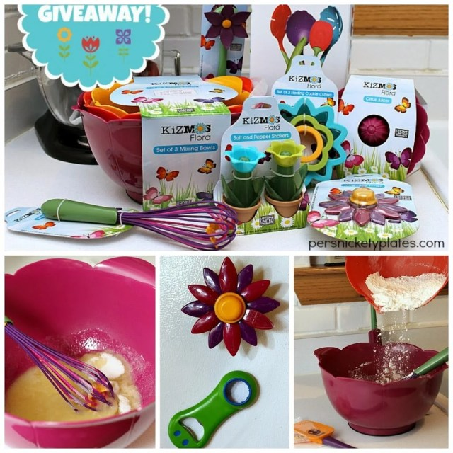 Kizmos Flora Giveaway! {Runs 3/11-3/17/14} | Persnickety Plates
