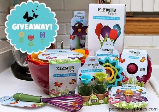 Kizmos Flora Giveaway! {Runs 3/11-3/17/14}   Persnickety Plates
