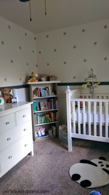 Baby Girl Room Reveal | Hemnes Dresser & Kendall Crib | Persnickety Plates