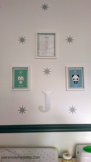 Baby Girl Room Reveal | Gallery Wall | Persnickety Plates