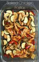 Quick & easy Baked Chicken Fajitas   Persnickety Plates