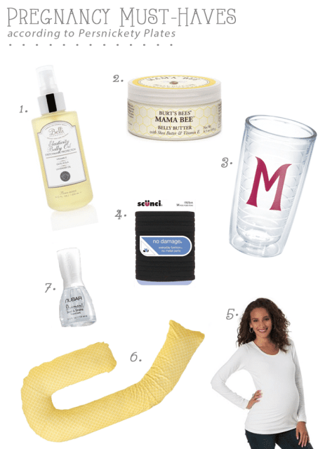Persnickety Pregnancy: Pregnancy Must-Haves - My favorite pregnancy related items. So far.