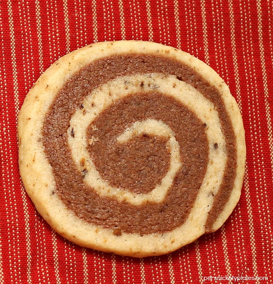 Chocolate Mocha Swirl Cookies   Persnickety Plates