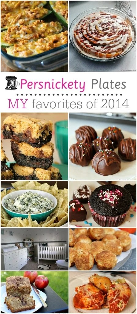 I rounded up your favorites, now here are MY favorite posts of 2014 | Persnickety Plates