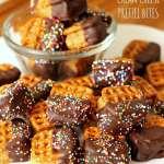 Peanut Butter Cream Cheese Pretzel Bites | Persnickety Plates