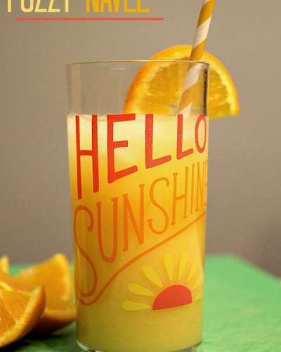 Fuzzy Navel - a fun, summery drink   Persnickety Plates