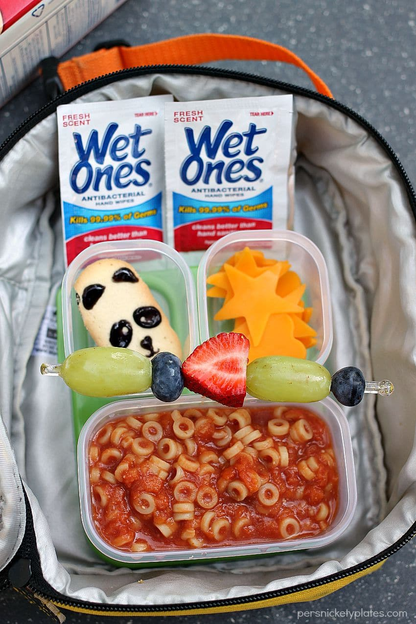 Homemade Spaghettios & Lunchbox Ideas for back to school | Persnickety Plates