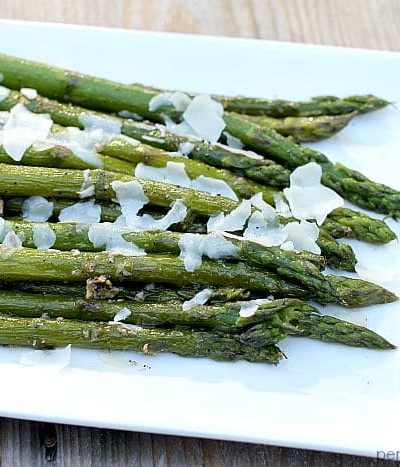 Super simple sauteed asparagus that's full of flavor and can be on the table in 15 minutes.   Persnickety Plates