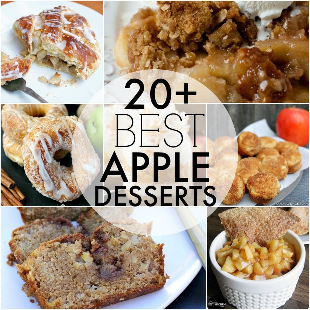 Over 20 of the BEST apple desserts to kick off the upcoming fall season! | Persnickety Plates