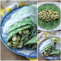 Vegetarian Mediterranean Wrap | Persnickety Plates