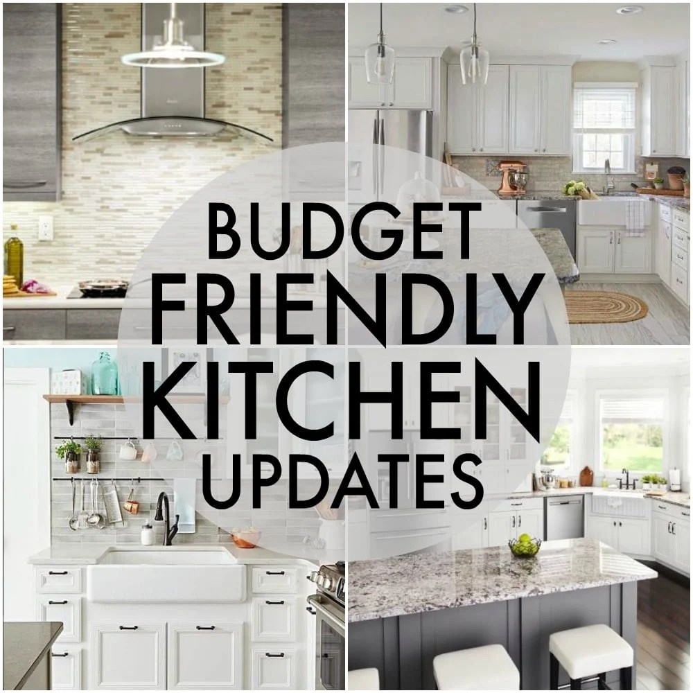 kitchen updates yellow accessories budget friendly persnickety plates updating your is totally possible without going broke here are five