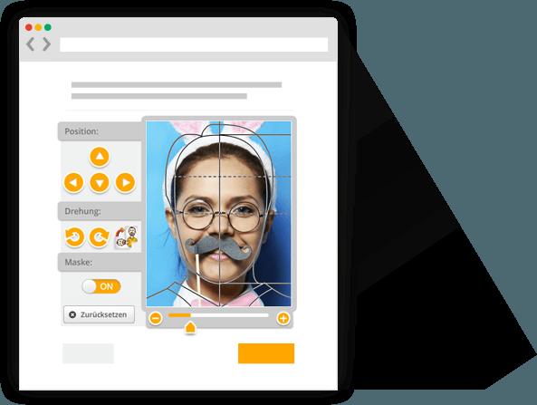 PersoFoto  Biometrische Passbilder selber machen