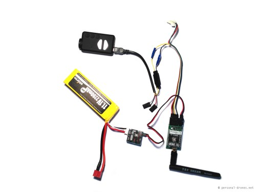 small resolution of mobius camera connected to the fatshark 250mw video transmitter custom setup